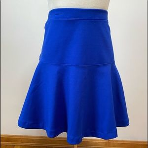 Old Navy XL bright blue flare skirt